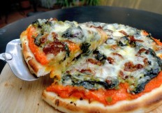 spinach pizza-029